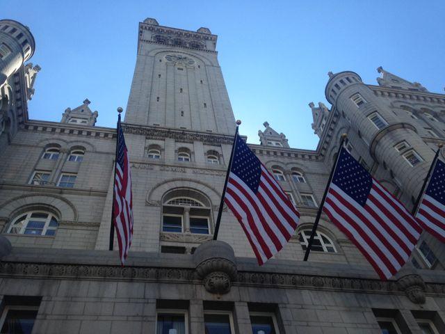 Le nouvel hôtel Trump prend la place de l'ancienne poste fédérale de Washington