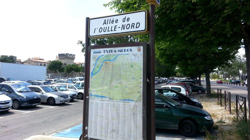 Parking des allées de l'Oulle à Avignon