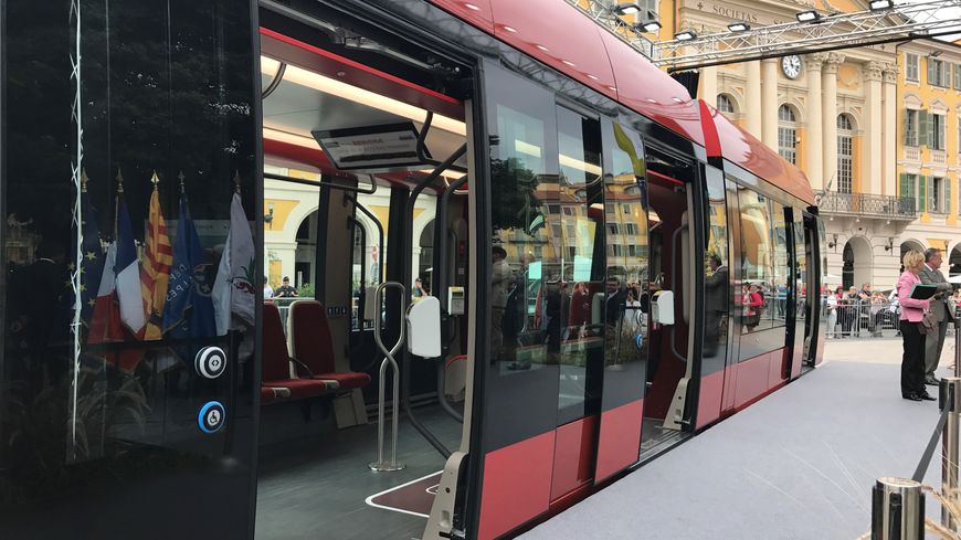 nouvelle rame Ligne 2 tramway nice