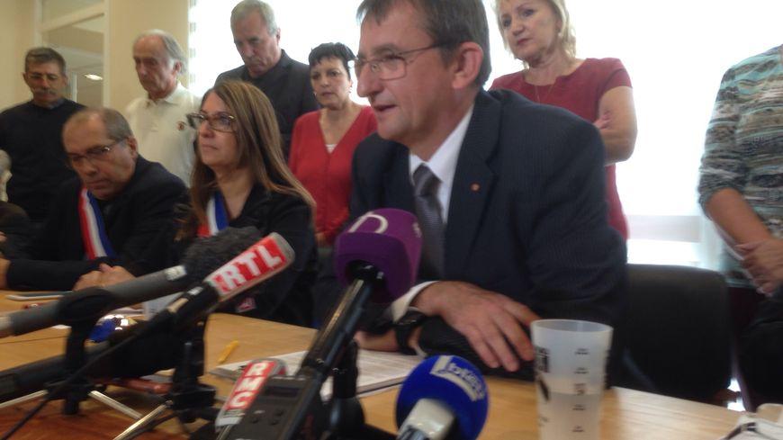 Gérard Crozier, le maire d'Allex (Drôme)