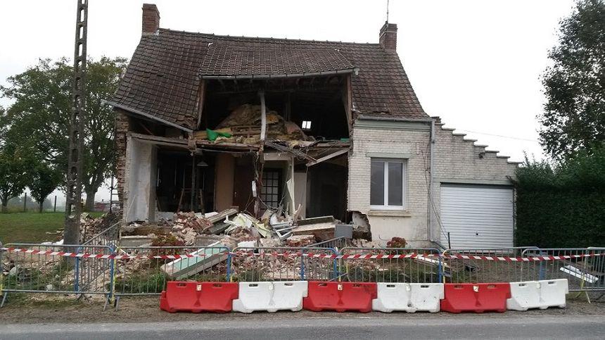La maison doit être mise en sécurité, ce qui coûte des milliers d'euros - Radio France