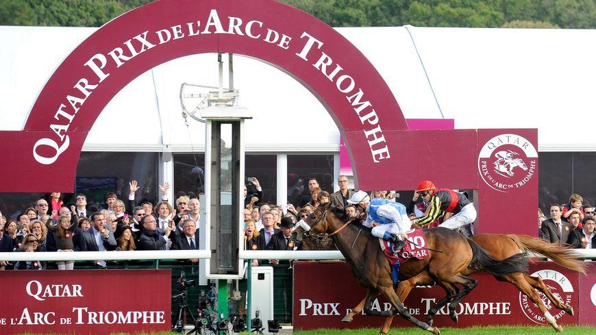 Le Prix de l'Arc de Tiomphe sur l'hippodrome de Chantilly