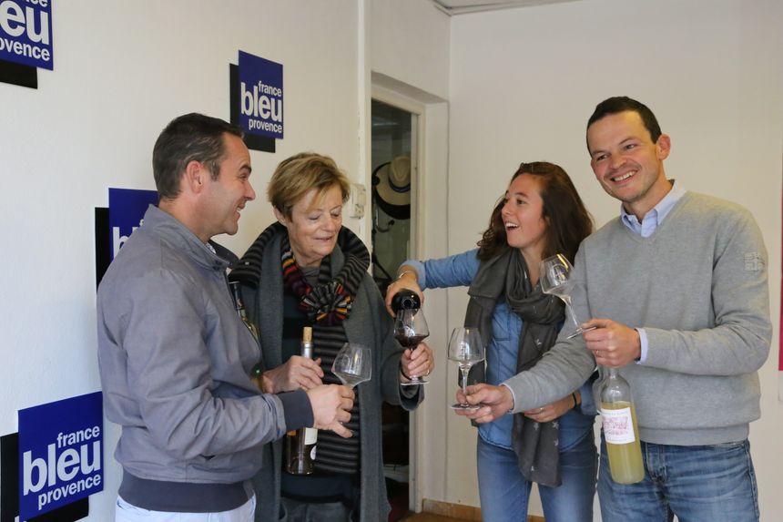 Yann Cherici, Jacqueline Guichot, Mélanie Masson et Julien Vial - Radio France