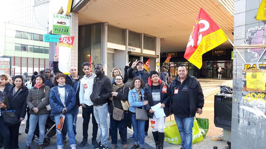 """Les salariés de """"Babou"""" en grève à Bagnolet"""