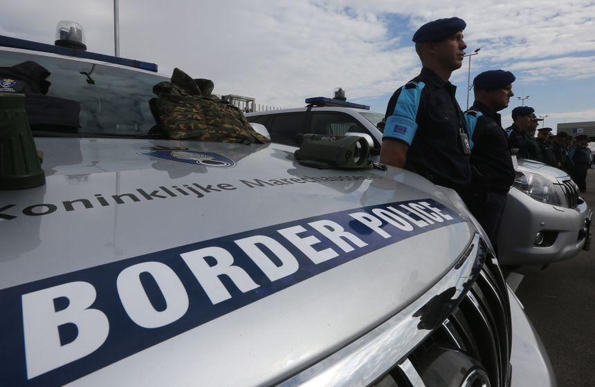 Gardes-frontières européens en Bulgarie - Maxppp