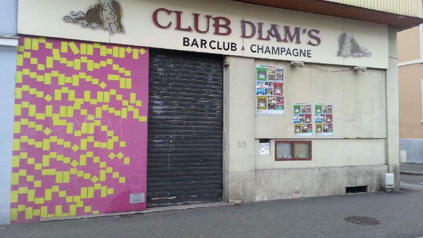 L'un des établissements de nuit fermé administrativement à Mulhouse.