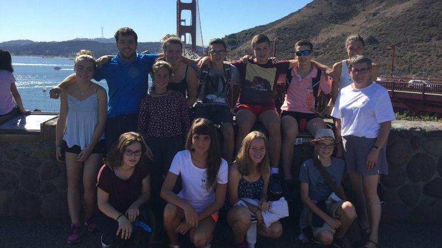 Les collégiens de Donostei ont découvert le Golden Gate