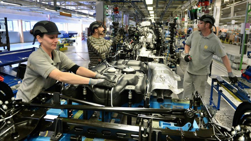 L'usine de Sandouville fabrique des utilitaires pour 4 marques