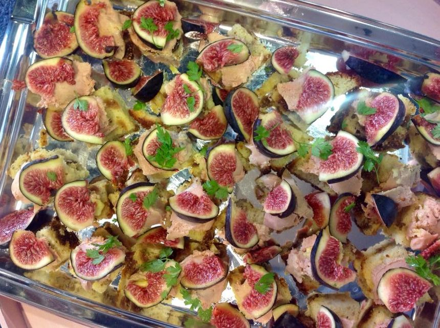 Les toasts foie gras, figues, cerfeuil by Christine Rassat - Radio France