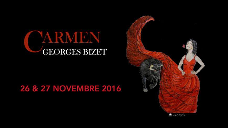 Carmen au Théâtre à l'italienne de Cherbourg-en-Cotentin avec France Bleu