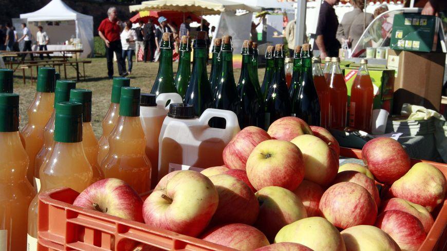 """Des producteurs alsaciens voudraient lancer leur jus de pomme commerce équitable avec l'aide de la marque """"C'est qui le patron ?!"""""""