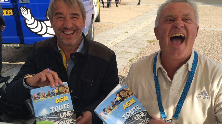 Les auteurs, Christophe Buron, à gauche, et Yves Meunier