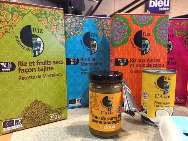 Autour du riz, riz bio et équitable - Radio France