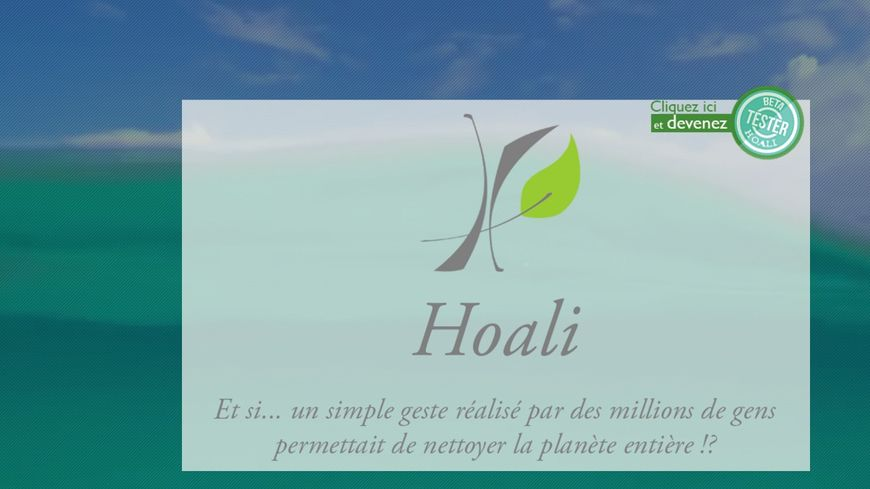 Site internet de l'application bretonne Hoali