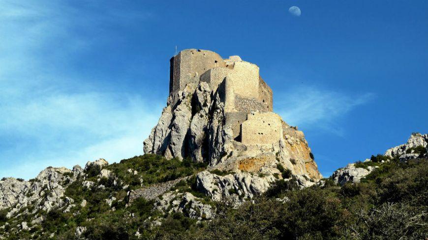 Le château de Quéribus, un des haut-lieux de la résistance cathare