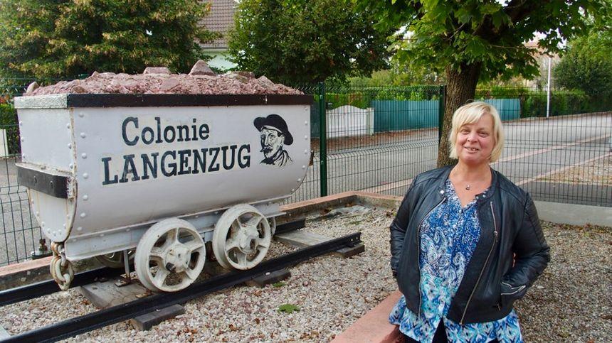 Wittelsheim, Blandine JENNY, pdte Rencontres et Loisirs - Radio France