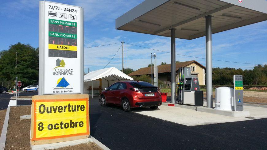 La nouvelle station essence de Coussac-Bonneval est en service depuis samedi