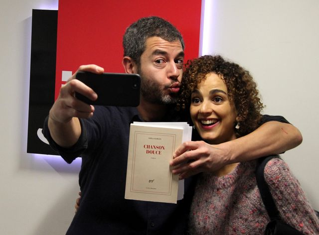 Ali Baddou et Leïla Slimani