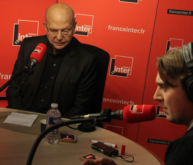 Patrick Buisson et Alex Vizorek