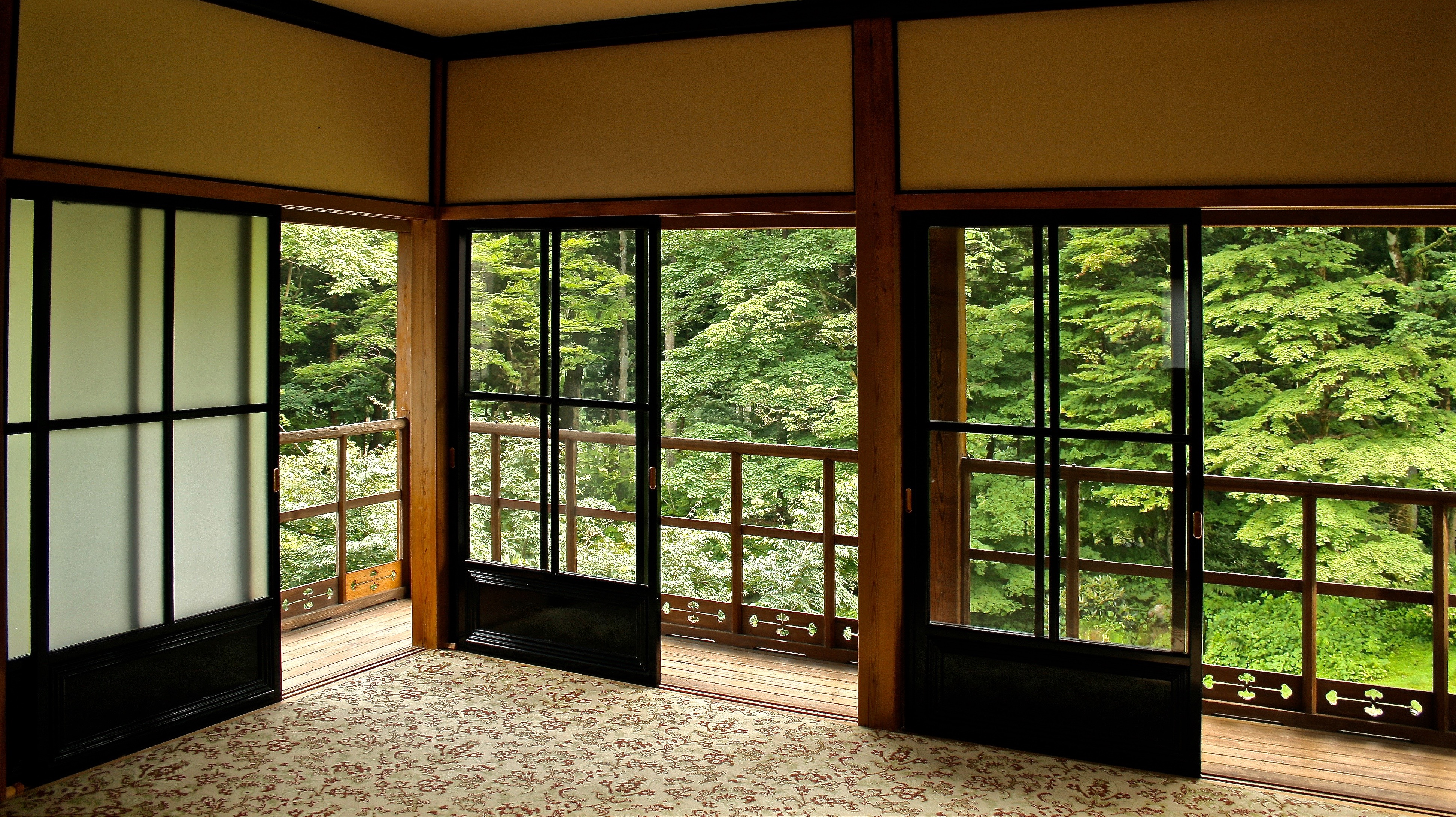 Ventilació en una casa japonesa
