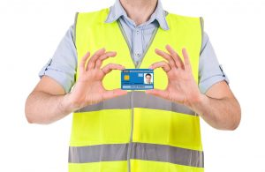 An NVQ Level 2 in Passive Fire Protection is a route to getting a Blue CSCS Card