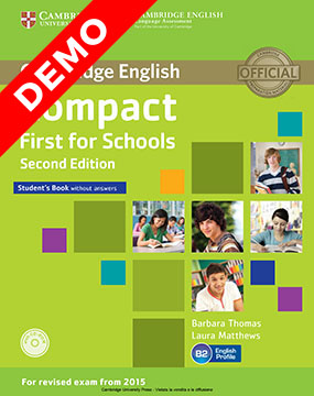 Compact First for Schools DEMO