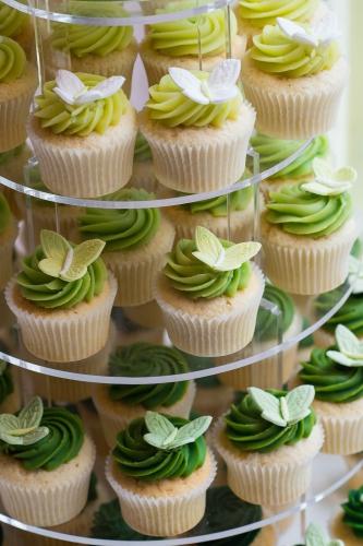 Green wedding tier comp