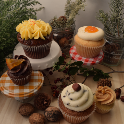 Februar Cupcakes Gruppe