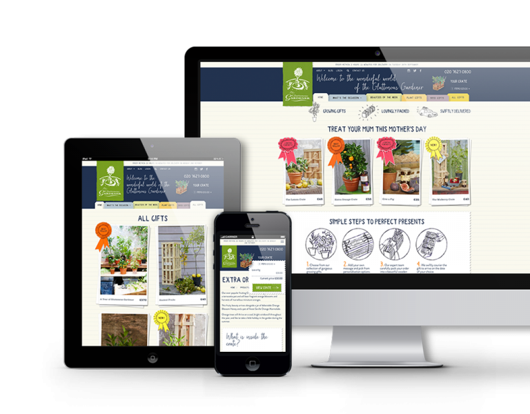 Gluttonous Gardener Craft CMS e-commerce platform