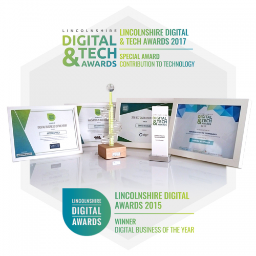 Lincolnshire Digital Tech Awards Digital business of the year