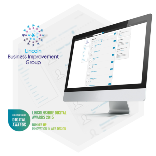Intranet development example For Lincoln Business Improvement