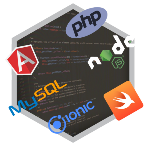 Web Development platforms MySQL, NodeJS, Angular, PHP, Ionic