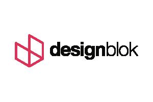 Design Blok logo logo
