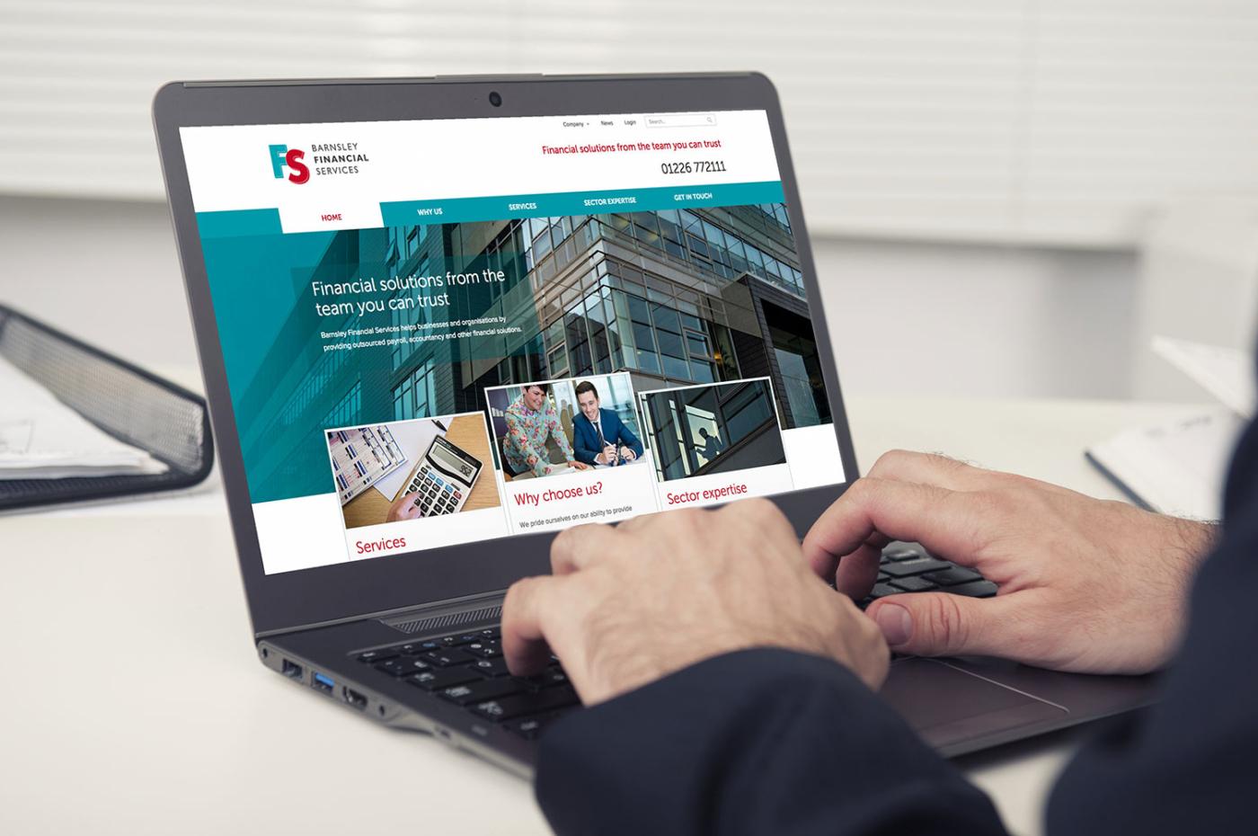 Barnsley Financial Service web design