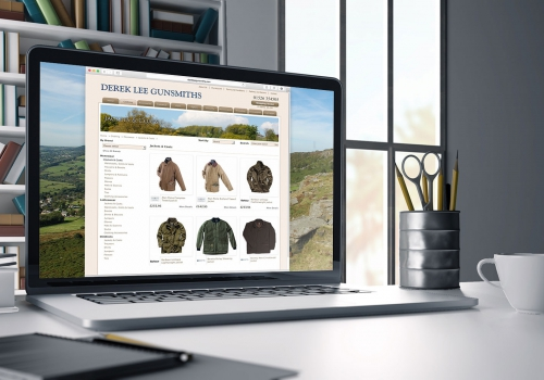 Gunsmith and outdoor clothing e-commerce