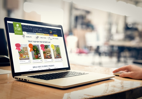 Gluttonous Gardener Craft CMS e-commerce responsive website card image