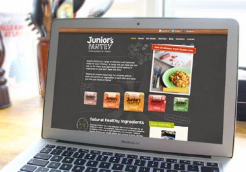 Children's food website