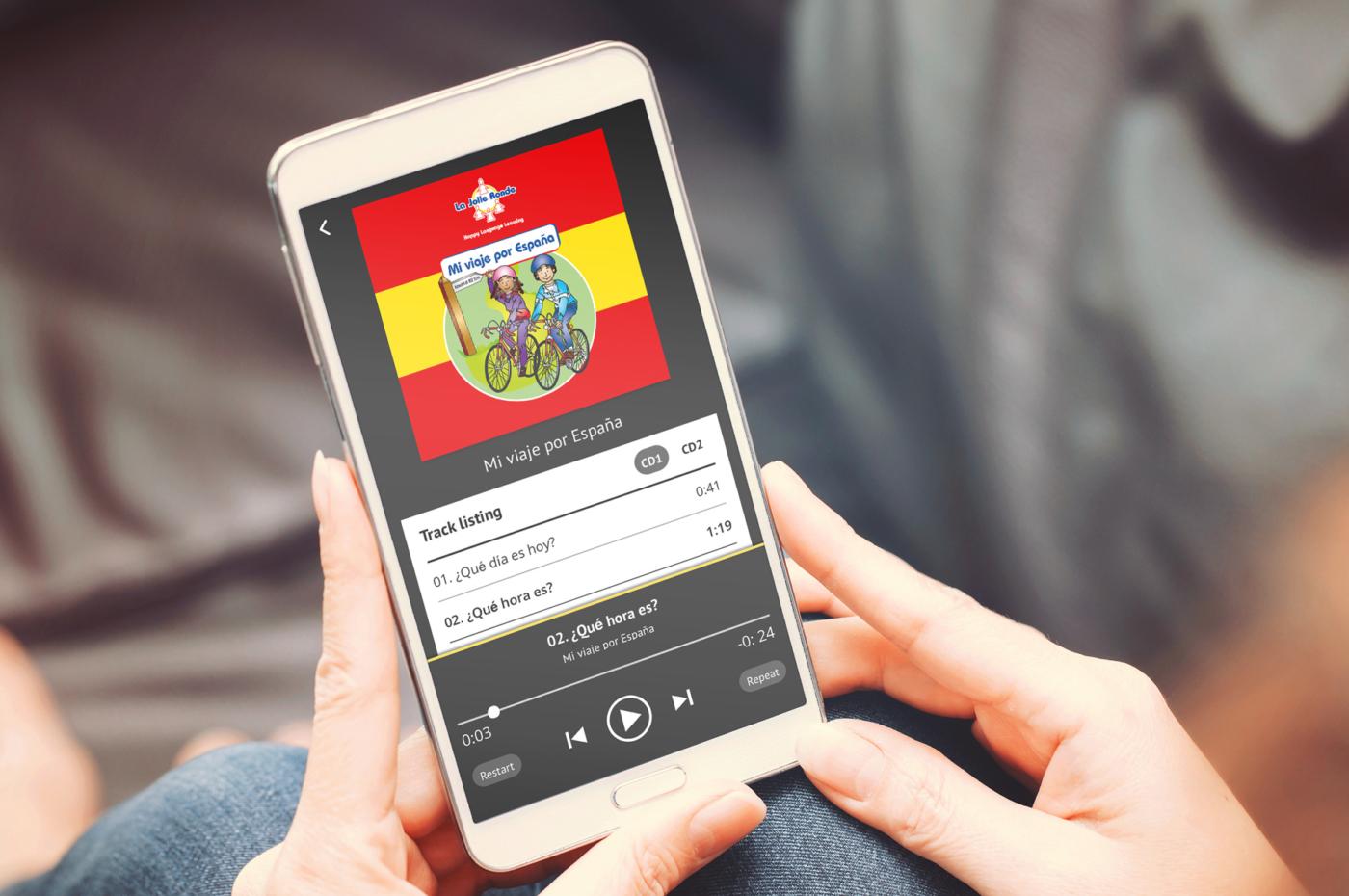 La Jolie Ronde Education Mobile app