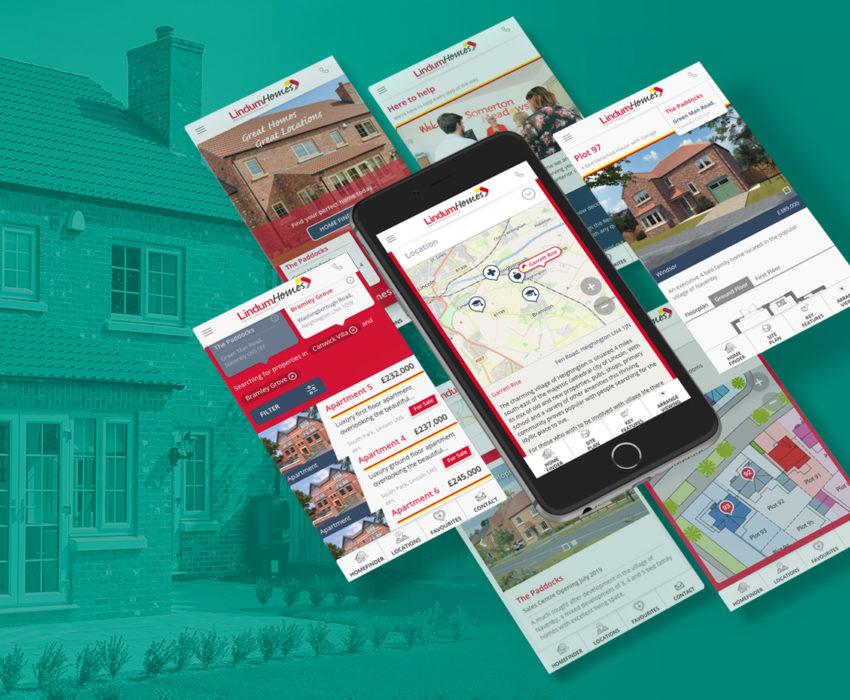 Lindum Homes website