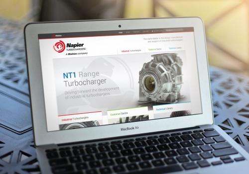 Napier Turbochargers website