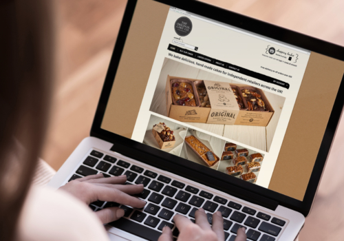 Original Cake E-Commerce