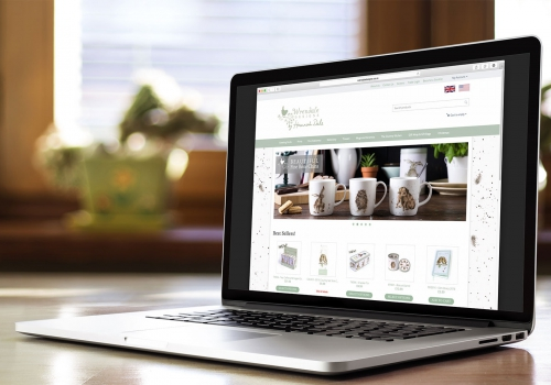 Wrendale designs e-commerce