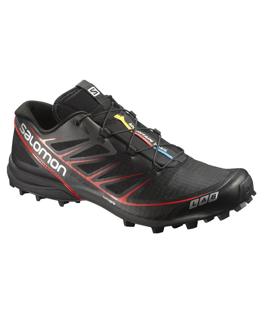 Salomon S-Lab Speed black/black/racing red