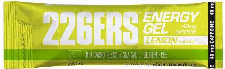 226ers Energy Gel BIO 40g Caffeine 40 mg lemon