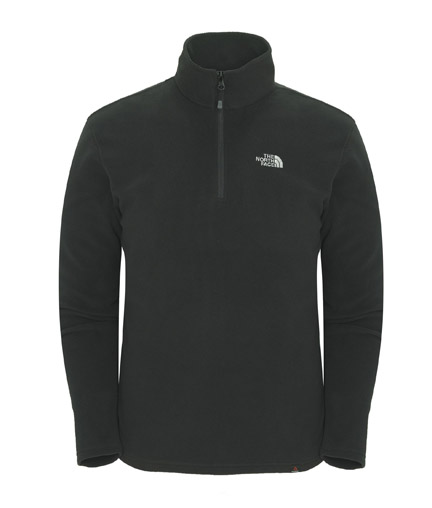 TNF M 100 Glacier 1/4 Zip TNF black
