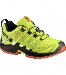Salomon Xa Pro 3D J  lime punch/black/scarlet ibis