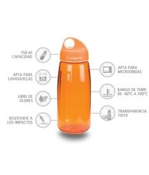 Nalgene Botella N-Gen Naranja 750 ml