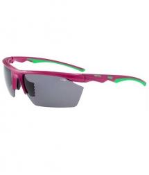 Goggle Mikuno pink green/smoke