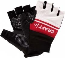 Craft Classic Glove M Black/Br Red/White