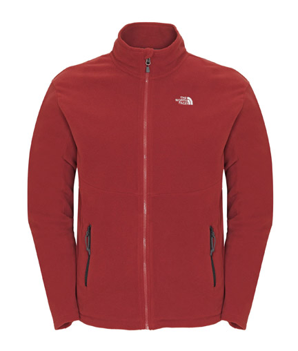 TNF M Glacier Full Zip TNF red